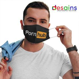 Cheap Pornhub Logo Mask Cloth