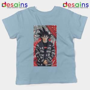 Goku Super Saiyan Sky Blue Kids Tee Dragon Ball Z