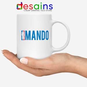 Mando NBA Logo Mug The Mandalorian