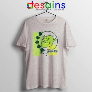 Shrek Blink 182 Sport Grey T Shirt Funny Ogre Band