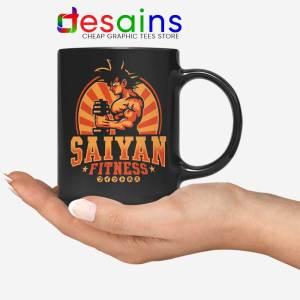 Super Saiyan Workout Mug Goku Gym