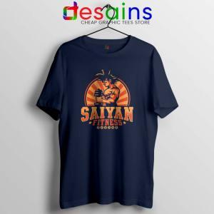 Super Saiyan Workout Navy T Shirt Goku Gym