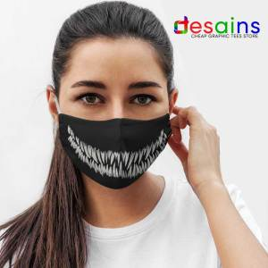 Venom Monster Teeth Mask Cloth Marvel Comics
