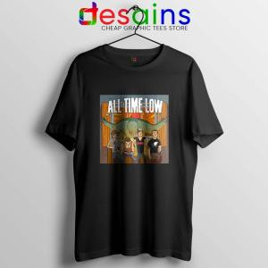 All Time Low Don t Panic Black Tour T Shirt Band Merch