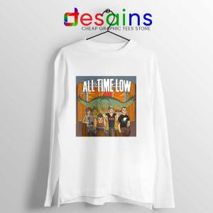All Time Low Don t Panic Tour Long Sleeve Tee Band