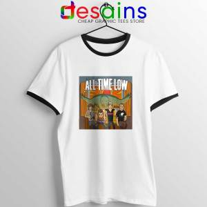 All Time Low Don t Panic Tour Ringer Tee