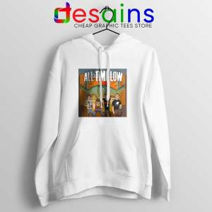 All Time Low Don t Panic Tour White Hoodie Band Merch