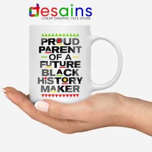 Black History Maker White Mug African American