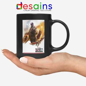 Buy The Falcon and Winter Soldier Black Mug Disney+ TV series