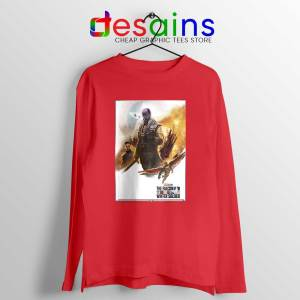Buy The Falcon and Winter Soldier Red Long Sleeve Tee Marvel