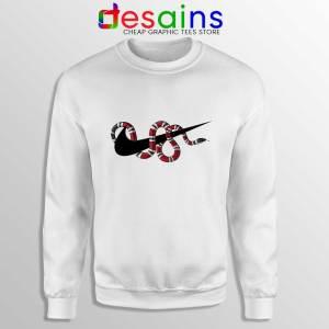 Just DO It Milk Snake Sweatshirt Funny Nike
