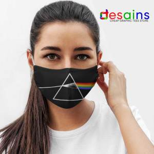 The Dark Side of the Moon Logo Mask Cloth Pink Floyd Band