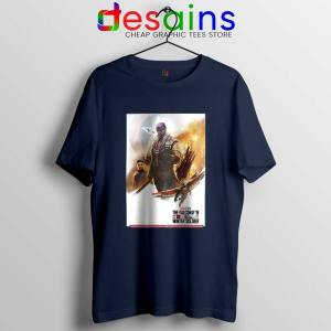 The Falcon and Winter Soldier Navy T Shirt Marvel Tv Series