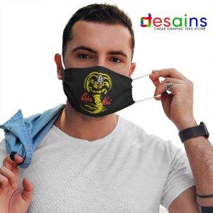 Cobra Kai TV Show Logo Mask Cloth Netflix Karate Kid