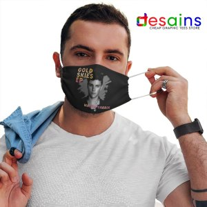 Gold Skies Martin Mask Cloth Dj World Merch
