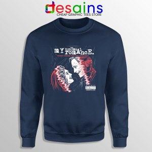 WandaVision Romance Graphic Navy Sweatshirt Disney+ Marvel