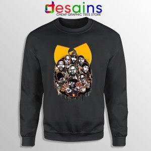 Buy Wu Tang NY Yankees Black Sweatshirt Baseball