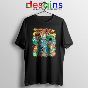 MF Doom Comic Black T Shirt Celebrity Rapper