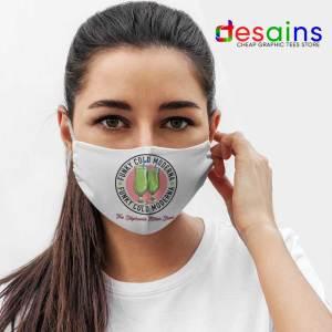 Moderna Vaccine Funky Cold Mask Cloth