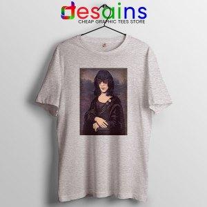 New Wave Mona Lisa Sport Grey T Shirt Ramona