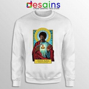 Saint Jules Pulp Fiction Sweatshirt Jesus Christ