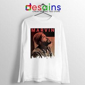 Best Marvin Gaye Tribute Long Sleeve Tee Soul Singer