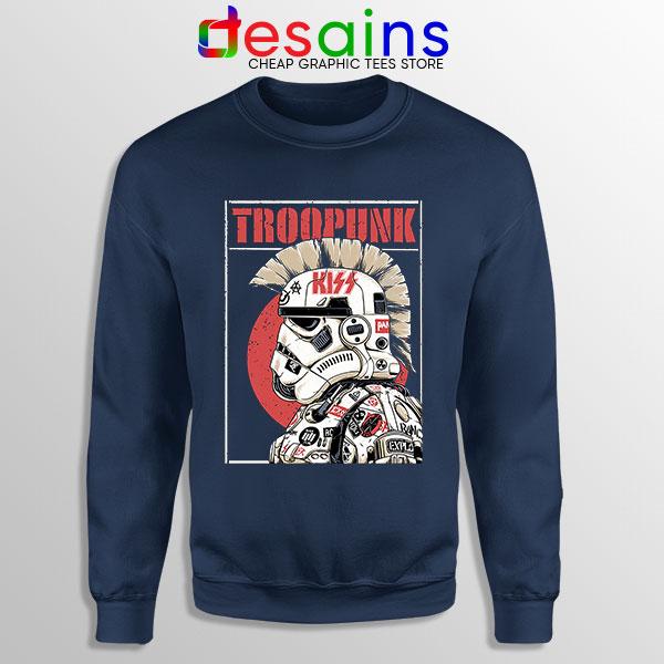 Best Stormtrooper Punk Navy Sweatshirt Star Wars Rock