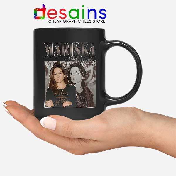 Buy Mariska Hargitay Merch Black Mug Law and Order Svu