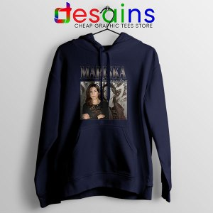 Buy Mariska Hargitay Merch Navy Hoodie Law and Order Svu