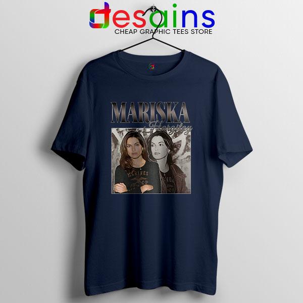 Buy Mariska Hargitay Merch Navy T Shirt Law and Order Svu