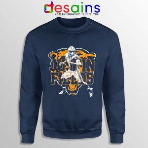 Cheap Justin Fields NFL Sweatshirt Chicago Bears