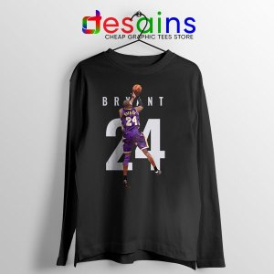 Kobe Bryant 24 Best Dunk Long Sleeve Tee Legend NBA