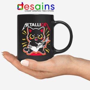 Metallica Cat Funny Mug Metallicat Band