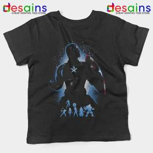 The Super Soldier Avengers Kids Tee Captain America