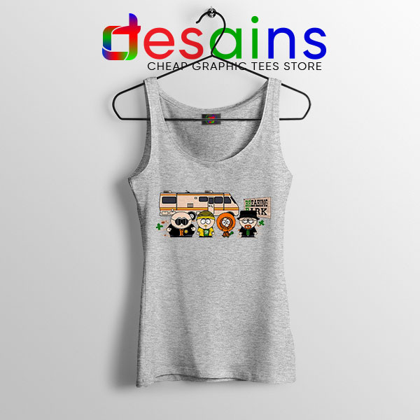 Breaking Bad Characters Animated Sport Grey Tank Top South Park