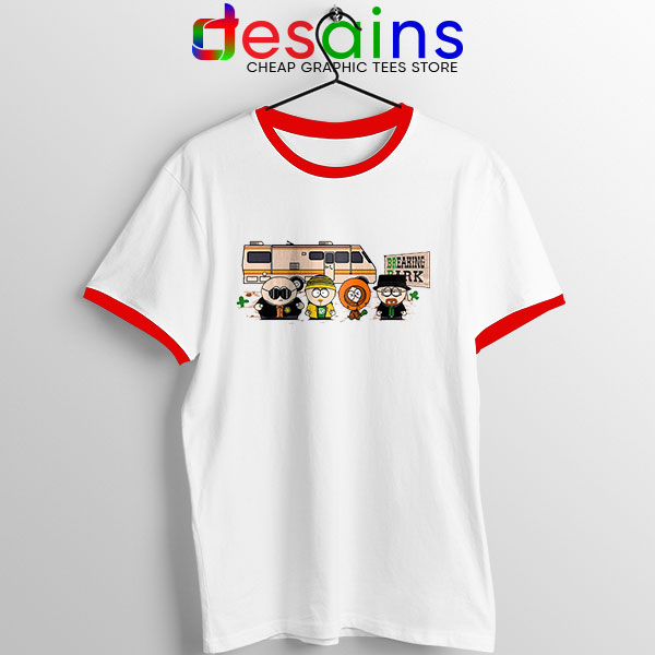 Breaking Bad Park Animated Red Ringer Tee South Park