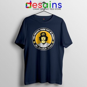 Buy Baseball Furies Merch Navy T Shirt The Warriors Film