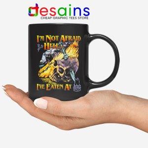 Hell Arbys Menu Breakfast Mug Im Not Afraid