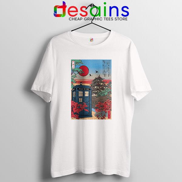 Tardis Blue Paint Japan T Shirt Doctor Who BBC