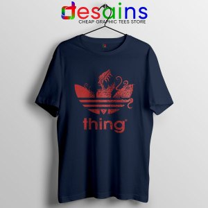 The Thing Outpost 31 Adidas Navy T Shirt John Carpenter