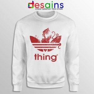 Thing Outpost 31 Adidas White Sweatshirt John Carpenter
