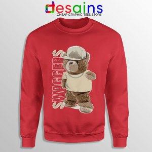 Air Jordan 4 Bear Swaggers Red Sweatshirt Sneakers Clothes