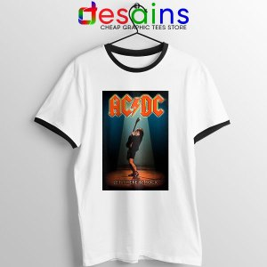 Best AC DC Hits Greatest Ringer Tee Let There Be Rocks