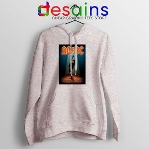 Best AC DC Hits Greatest Sport Grey Hoodie Let There Be Rocks