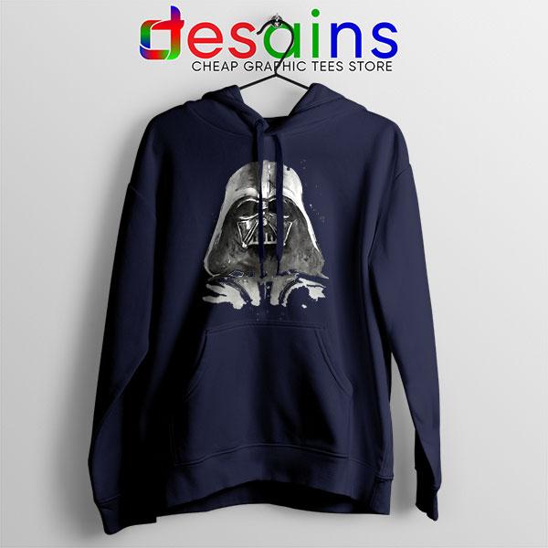 Best Darth Vader Paint Navy Hoodie Anakin Skywalker