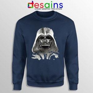Best Darth Vader Paint Navy Sweatshirt Anakin Skywalker
