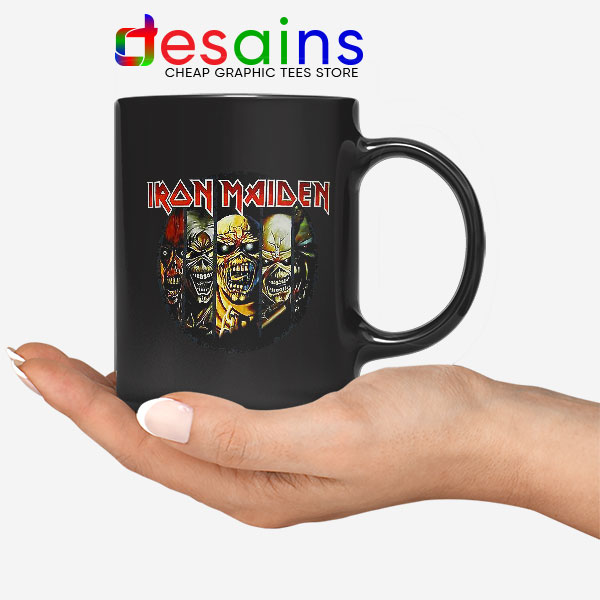 Best Iron Maiden Cover Art Mug Discography Albums