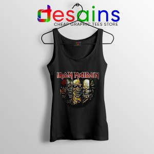 Best Iron Maiden Cover Art Tank Top Discography Albums