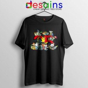 Best Pokémon Universe Black T Shirt 25th Anniversary