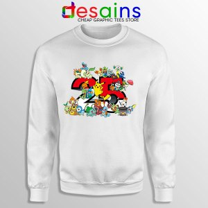 Best Pokémon Universe Sweatshirt 25th Anniversary